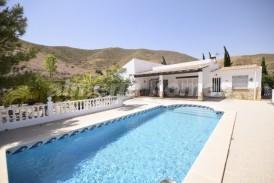 Villa Melocotones: Villa for sale in Arboleas, Almeria