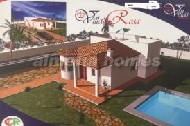 Villa Rosa: Villa en venta en Albox, Almeria