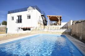 Villa Saturno: Villa for sale in Partaloa, Almeria