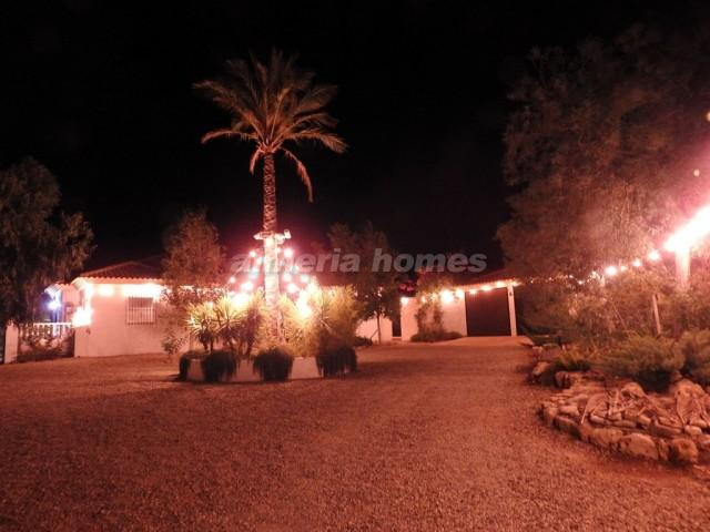 Front garden lighting