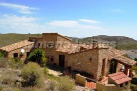 Finca Vistas del Mar: Casa de Campo en venta en Lubrin, Almeria